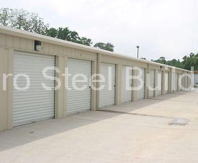 Duro Steel Prefab Mini Self Storage 30x100x8.5 Metal Building Structures Direct