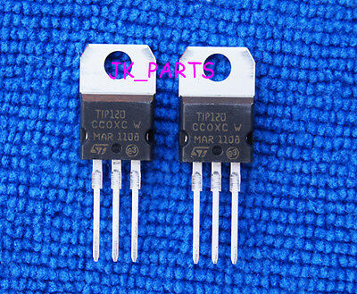 20pcs New Tip120 Transistor To-220 St
