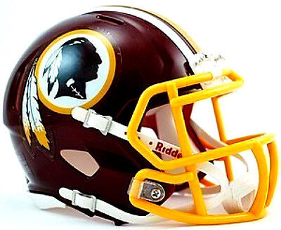 Washington Redskins Riddell NFL Football Team Logo Mini Speed Helmet