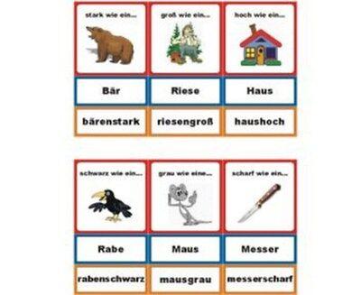 bärenstarkes Legematerial - Adjektive, Montessori, neu