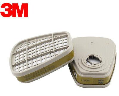 3M 6006 - 6000 Series Gas /Vapor Cartridge, Multi-Gas/Vapor - 1 PAIR - FREE SHIP