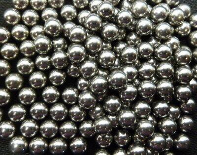 10pcs Precision 12 Solid Chrome Steel Bearing Balls G25 .5 In 12.7 Mm Diameter