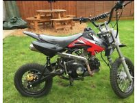 125 CC Pit Bike UK made very fast
