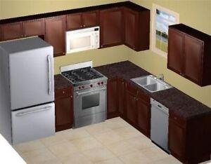 Kitchen Cabinets   Solid Wood Kitchen   647-287-2304