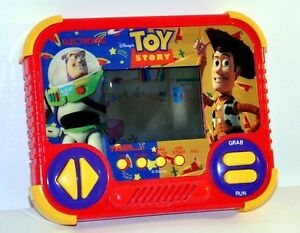 Disney Pixar TOY STORY 1990 TIGER ELECTRONIC HAND-HELD GAME