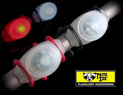 Nite Ize TwistLit White LED Bike Light TLT-03-02 *NEW*
