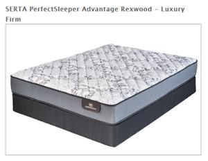 S.P.>>SERTA PerfectSleeper Advantage Rexwood - Luxury Firm!