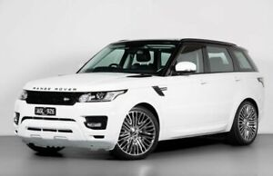 2015 Land Rover Range Rover Sport L494 16MY SE White 8 Speed Sports Automatic Wagon Port Melbourne Port Phillip Preview