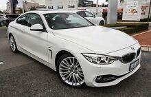 2013 BMW 428i F32 Luxury Line Alpine White 8 Speed Sports Automatic Coupe Nedlands Nedlands Area Preview