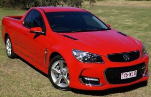 2015 Holden Ute VF II MY16 SS Ute Red 6 Speed Manual Utility Bundaberg West Bundaberg City Preview