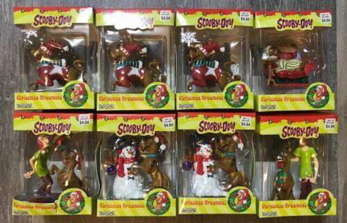 Scooby Doo Cartoon Network 8 Ct Christmas Ornament Lot NEW NIB Trevco