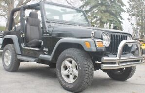 4.0ltr Automatic Jeep TJ 2003 Nice Shape.