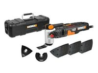 WORX WX681 F50 450W Sonicrafter Multi-Tool Oscillating Tool with 40 Accessories (Brand New Sealed)