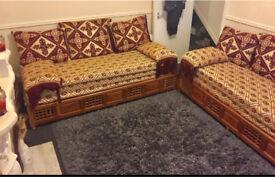 Arabian Sofa X 2 Moroccan style £350