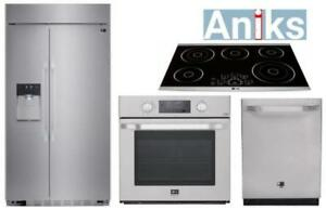 https://aniks.ca/ LG Studio Collection Built-In Kitchen Appliance Package: LSSB269
