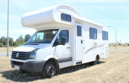 2012 Talvor VW Crafter Euro Deluxe White Motor Home Gepps Cross Port Adelaide Area Preview