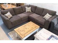Brand new ex display corner sofa £899.