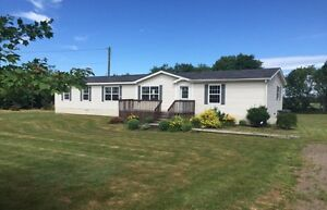 3 BR, New Mobile Home with Private Lot
