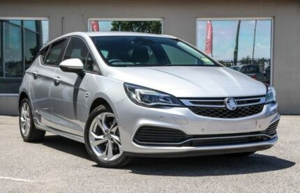 2017 Holden Astra BK MY17 RS Silver 6 Speed Sports Automatic Hatchback Bayswater Bayswater Area Preview