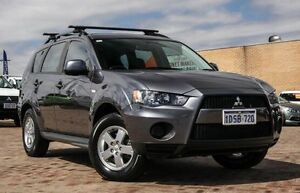 2012 Mitsubishi Outlander ZH MY12 LS Grey 6 Speed Constant Variable Wagon Embleton Bayswater Area Preview