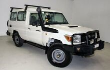 2011 Toyota Landcruiser VDJ78R MY10 Workmate Troopcarrier White 5 Speed Manual Wagon Edgewater Joondalup Area Preview