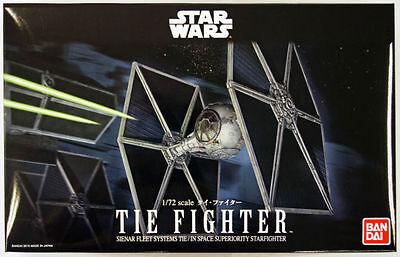 Bandai Star Wars Tie Fighter 1/72 USA Seller
