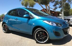 2013 Mazda 2 DE10Y2 MY13 Neo Blue 5 Speed Manual Hatchback Melville Melville Area Preview