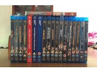 18 James Bond films on blu Ray .