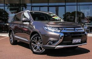 2016 Mitsubishi Outlander ZK MY16 XLS 2WD Ironbark 6 Speed Constant Variable Wagon Cannington Canning Area Preview