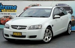 2007 Holden Commodore VE Lumina White Automatic Sedan
