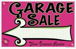 Garage Sale - 12 Tables of Items
