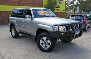 2006 Nissan Patrol GU IV MY06 ST-S Silver 5 Speed Automatic Wagon Upper Ferntree Gully Knox Area Preview