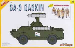 Cyber Hobby 9138 1/35 SA-9 Gaskin w/ Motor Rifle Troops model FS