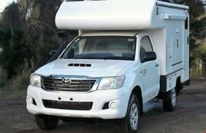 2014 Talvor Toyota Hilux Adventure White Campervan Campbellfield Hume Area Preview