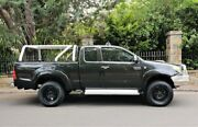 2006 Toyota Hilux KUN26R MY07 SR5 Xtra Cab Black 5 Speed Manual Utility Medindie Walkerville Area Preview