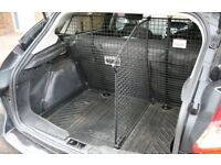 Bespoke Ford Focus 2011-2014 dog guard and boot divider by Guardsm
