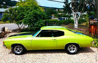 $47,900 FOR 1972 CHEVELLE APPRAISED AT $56,000