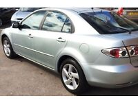 (((LOW MILEAGE-74,000 MILES ))) MAZDA 6 1.8 ((1 LADY OWNER))*VERY CLEAN CAR*MOT-JUNE 2017*EXCELLENT