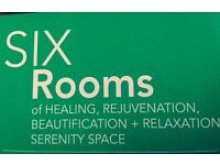 Book * DEEP TISSUE* or *SWEDISH MASSAGE* with a Professional Massage Therapist @ SIX Rooms WEST END