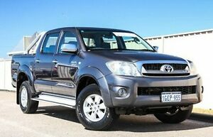 2009 Toyota Hilux GGN25R MY09 SR5 Grey 5 Speed Automatic Utility Pearsall Wanneroo Area Preview