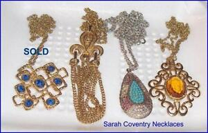 Lot of 2 Vintage Sarah Coventry Jewellery Necklaces Belleville Belleville Area image 2