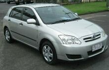 2006 Toyota Corolla ZZE122R 5Y Ascent Silver 4 Speed Automatic Hatchback Bungalow Cairns City Preview