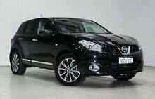 2011 Nissan Dualis J10 Series II MY2010 Ti Hatch X-tronic Black 6 Speed Constant Variable Hatchback Edgewater Joondalup Area Preview