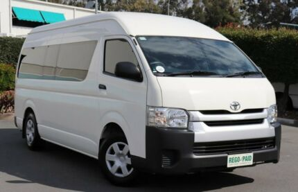 2015 Toyota Hiace TRH223R Commuter High Roof Super LWB French Vanilla 6 Speed Automatic Bus Acacia Ridge Brisbane South West Preview
