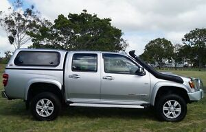 2011 Holden Colorado RC MY11 LT-R Crew Cab Silver 4 Speed Automatic Utility Bundaberg West Bundaberg City Preview