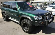 2003 Nissan Patrol GU III ST (4x4) Green 5 Speed Manual Wagon Woodridge Logan Area Preview