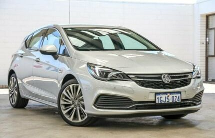 2017 Holden Astra BK MY17 RS-V Silver 6 Speed Automatic Hatchback