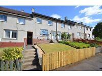 2 dbl bedroom, mid terraced house, triple glazed, GCH, low maintenance front & back gardens