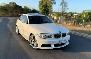 2012 BMW 1 Series E82 LCI MY0312 135i D-CT M Sport White 7 Speed Sports Automatic Dual Clutch Coupe