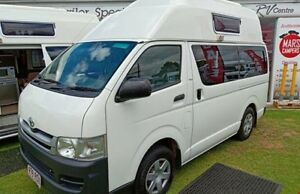 2010 Talvor Toyota Hiace Hitop White Campervan Geelong Geelong City Preview